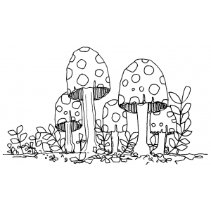 Catherine Scanlon Cling Mount Stamp - Fungus Amongus 1 AGC1-2767