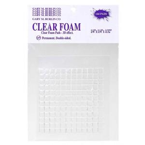 Clear Foam Pads - GBCF1414