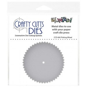 Crafty Cutts Dies - Pinking Wheel CCD-065