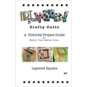 Crafty Cutts Project Guide #7 - Layered Square, AM-SQLRDBKLT