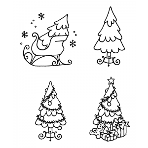 Darby New Cling Mount Set - Decorating The Tree L-1503