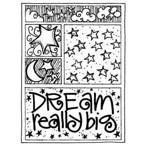 Joanne Sharpe Cling Mount Stamp - Dream Mini Frame AGC2-751