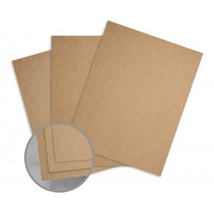 "WorldWin 8 1/2"" x 11"" Kraft Cardstock - KRFT-85-CARD"
