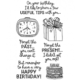 Catherine Scanlon Clear Stamp Set - Birthday Laughs #1 MC-2836