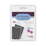 3D Foam Squares, Regular Black - SA01611