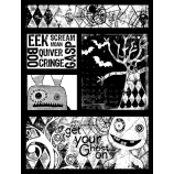 Suzanne Carillo Single Cling Mount Stamp - Get Your Ghost On AGC2-2714