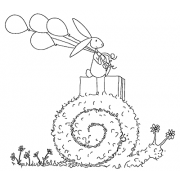 Michelle Masters Cling Mount Stamp - Snail Mail AGC1-2625