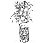 Catherine Scanlon Cling Mount Stamp - Tiny Bouquet 2 AGC1-2772