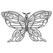 Catherine Scanlon Cling Mount Stamp - Butterfly AGC2-2785