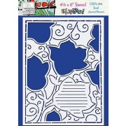 Catherine Scanlon Stencil - Journal Flowers CSSTL-004