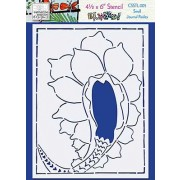 Catherine Scanlon Stencil - Small Journal Paisley CSSTL-005