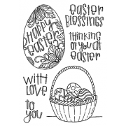 Catherine Scanlon Clear Stamp Set - Easter MC-2783