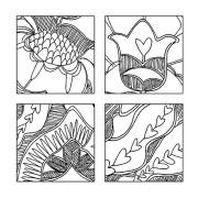 Catherine Scanlon Cling Mount Stamp - Twinchies 2 L-2696