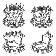 Darby New Cling Mount Set - Cake Begone L-1590