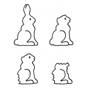 Darby New Cling Mount Set - Chocolate Rabbit L-1866