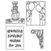 Darby New Clear Stamps: Birthday View Maker MC-2426
