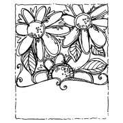 Joanne Sharpe Cling Mount Stamp - Big Blooms Artful Cardmaker AGC2-2552