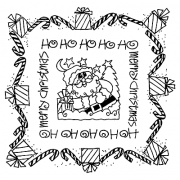 Joanne Sharpe Simple Squares - Merry Christmas SC-2462