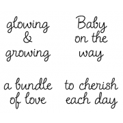 Cling Mount Stamp Set - Glowing & Growing M-1646