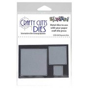Crafty Cutts Dies - Square Metal Dies CCD-049