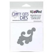 Crafty Cutts Dies - Flourish 1 Metal Die CCD-016