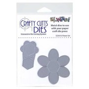 Crafty Cutts Dies - Flower Set Metal Die CCD-013