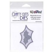 Crafty Cutts Dies - Holly Metal Die CCD-019