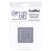 Crafty Cutts Dies - Flip Open Windows Metal Die CCD-008