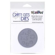 Crafty Cutts Dies - Poinsettia Circle Metal Die CCD-037