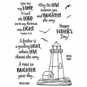 Nicole Tamarin Clear Stamp Set - Lighthouse NTMCS-008