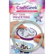 Craft Geek Wind It Wire, Silver - 7103