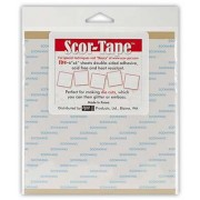"Scor-Tape 6"" x 6"" Adhesive Sheets"