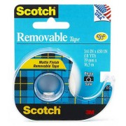 Scotch Removable Tape, 3M-224