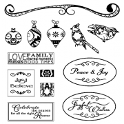 Suzanne Carillo Clear Stamp Set - Celebrate the Season SC-2710