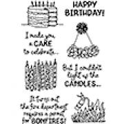 Catherine Scanlon Clear Stamp Set - Birthday Laughs #2 MC-2837