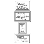 Cling Mount Stamp Set - Inspirations L-2665