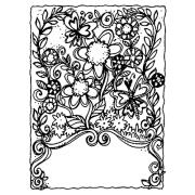 Joanne Sharpe Cling Mount Stamp - Flowers Artful Cardmaker AGC2-2490
