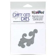 Crafty Cutts Dies - Flourish 1 Metal Die CCD-016