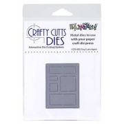 Crafty Cutts Dies - Tiny Cutts Apart Metal Die CCD-003