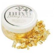 Nuvo Gilding Flakes, Radiant Gold - 850N