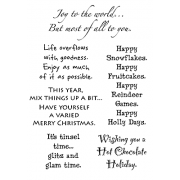 Words to the Rescue Clear Stamps - Christmas SFC009