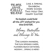Words to the Rescue Clear Stamps - Easter & Spring SFC020