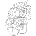 Catherine Scanlon Cling Mount Stamp - Peonies AGC3-2743