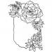 Catherine Scanlon Cling Mount Stamp - Succulents Bracket Frame AGC3-2829