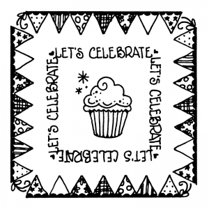 Carolee Jones Simple Squares - Celebrate SC-2583