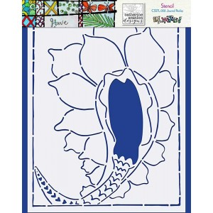 Catherine Scanlon Stencil - Journal Paisley CSSTL-002