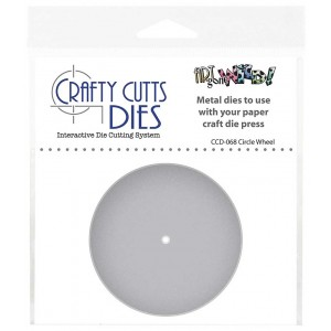 Crafty Cutts Dies - Circle Wheel CCD-068
