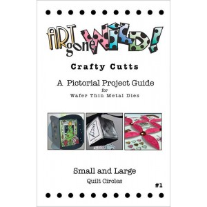 Crafty Cutts Project Guide #1 - Small and Large Quilt Circles, AM-QUILTBOOK