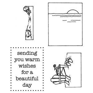 Darby New Clear Stamps: Beautiful Day View Maker MC-2425