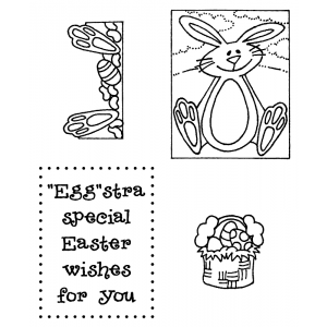 Darby New Clear Stamps: Easter View Maker MC-2427